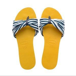 NWT Havaianas You Saint Tropez Sandal - Size 9/10